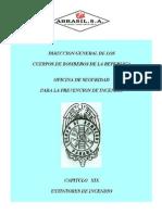Reglamento CBP Capitulo XIX Extintores[1]