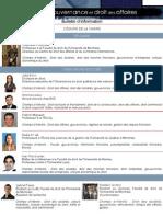 Bulletin Chaire Gouvernance[PDF