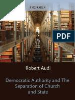 Audi (2011) Democratic Authority