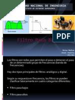 Filtro Pasa Bajos