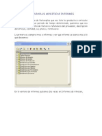 FACTURAPLUS MODIFICAR INFORMES