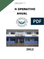 Plan Operativo Anual 2012