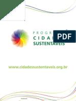 Publicacao Programa Cidades Sustentaveis