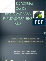 Manual Normas de Seguridad