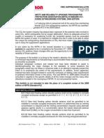 NFPA 12 Technical Suppression Bulletin