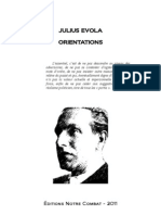 Orientations EVOLA Julius