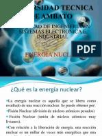 Universidad Tecnica de Ambatoenergia Nuclear