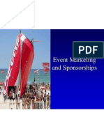 Event Marketing and Sponsherships