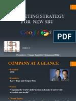 Marketing Strategy of Google