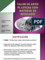 version web TALLER DE ARTES PLÁSTICAS version web