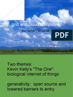 The Cloud and the Grid