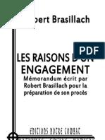 brasillach Mémorandum écrit par Robert Brasillach pour la préparation de son procès ok3