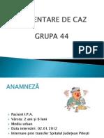 Prezentare Caz Pneumonie La Copil