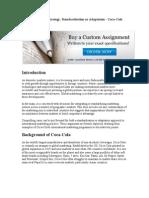 Global Marketing Strategy.doc COKE