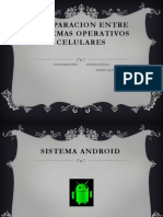 Comparacion Entre Sistemas Operativos Celulares
