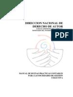 Manual de Buenas Practicas Contables SGC, APARRA, Diciembre 16 de 2010
