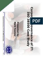 ISO 38500 Case Study