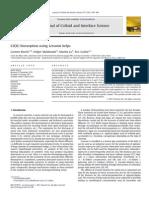 CD(II) Biosorption Using Lessonia Kelps