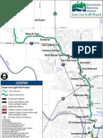 RT Light Rail Green Line Map