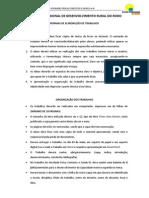 NORMAS DE ELABORAÇÃO DE TRABALHOS 2ºF