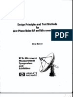 Design Principales and Test Methods for Low Phase Noise RF and Microwave Sources - Scherer