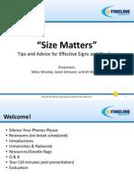 Presentation SizeMatters 060712 Jaw