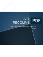 LVR Staff Recommends...