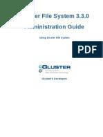 Gluster File System 3.3.0