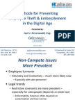 Methods for Preventing Employee Theft & Embezzlement in the Digital Age