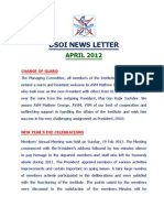DSOI Newsletter Apr 12