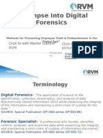 A Glimpse Into Digital Forensics