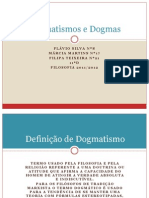 Dogmatismos e Dogmas - Flavio.marcia.filipa