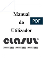 CLASUS MORE C-300, C-400, C-450 - Manual Do Utilizador