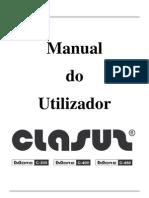 CLASUS MORE C-300, C-400, C-450 - Manual Do Utilizador
