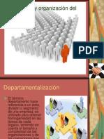 Departamentalización- Presentación