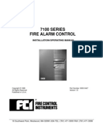FCI 7100 Manual
