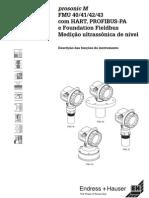 SENSOR GLICERINA Manual Prosonic m Fmu40_43