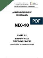 Parte 9-2 Instalaciones Electromecánicas