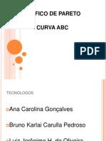 gráfico de pareto e curva abc