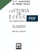 Espana Antigua y Media Esquemas
