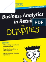 Business Analytics in Retail for Dummies