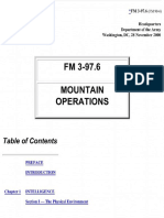 Mountain Operations 3 - FM 3-19.6