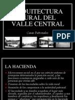Arquitectura Rural Del Valle Central