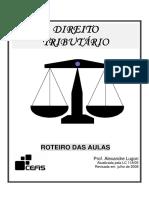 Direito Tributario Alexandre Lugon Com Indice 208 Pag