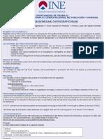 Consultores en Linea para el Censo Nacional de Poblacion y Vivienda