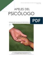 PAPELES DEL PSICOLOGO - Intervención psicosocial en protección a la infancia