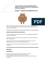 Actualizacion a 2.3 Del Galaxy Captivate