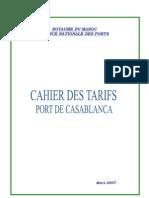 Cahier Tarifs ANP-CASA-Version Finale Diffusée