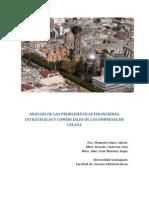 ANÁLISIS DE LAS PROBLEMÁTICAS FINANCIERAS,