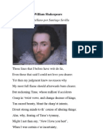 Sonnet CXV by William Shakespeare